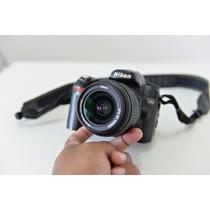Maquina Fotográfica D80 Nikon + Lente 18-55