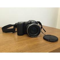 Câmera Digital Semiprofissional Nikon Coolpix L100 10mp