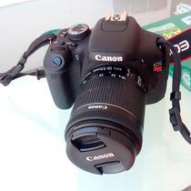 Câmera Canon Eos Rebel T3i + Lente 18-55mm 1:3.5-5.6 Iii