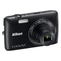 Câmera Digital Preta 16mp- Nikon