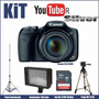 Kit Youtuber Silver Canon Sx520+led+tripes+32gb