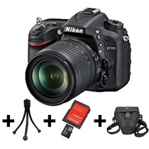 Camera Nikon D7100+lente 18-105mm+32gb+bolsa+tripé