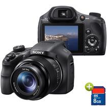 Câmera Digital Sony Dsc-hx300 20.4mp, Zoom Óptico 50x, 8gb
