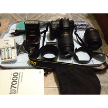 Nikon D7000 C/lente Vr18-105mm+flash Sb910+lente Vr 55-300mm