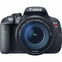 Câmera Digital Canon Dslr Eos Rebel T5i 18mp Lente 18-55mm