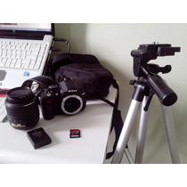 Câmera Nikon D3100 + 18-55mm +acessórios