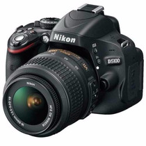 Camera Nikon D5100 Lente 18-55mm Full Hd +32gb