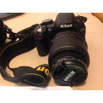 Camera Nikon D3100 Lente 18-55mm + Bolsa + Sd 16gb E Mais!