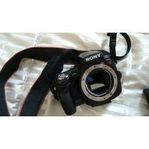Kit Câmera Profissional Sony Alpha A55 Várias Lentes + Flash