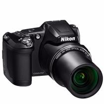 Câmera Digital Nikon Coolpix L840 16 Mp Lcd 3 Zoom 38x Full