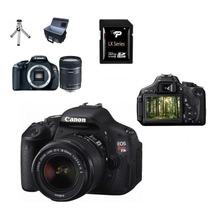Canon Eos Rebel T3i Lente 18-55mm+50mm+32gb+bolsa+tripé