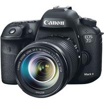Câmera Canon Eos 7d Mark Ii Com Lente 18-135mm