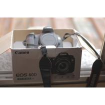 Canon 60d 27 Mil Clicks Com Caixa