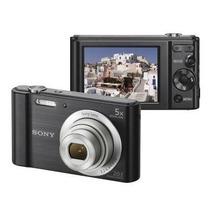 Câmera Digital Sony Cyber-shot Dsc-w800 Preta 20.1mp, Lcd -