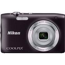 Câmera Nikon Coolpix S2900 / 20.1mp / Zoom 5x / Nota Fiscal
