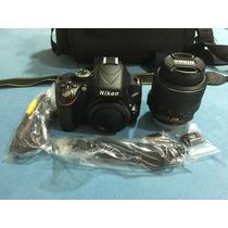 Camera Nikon D5100, Comprei, Testei E Guardei,estado De Zero