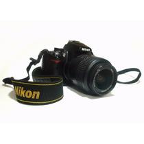 Câmera Nikon D5000 Fotográfica E Filmadora Na Caixa