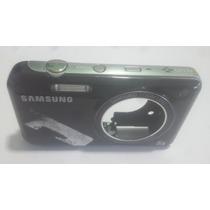 Carcaça Camêra Digital Samsung Pl120 Placa Botão Power Flash