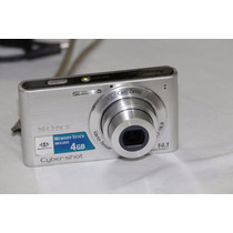Câmera Digital Sony Dsc W320 14.1 Mega Pixels Prata Cartão