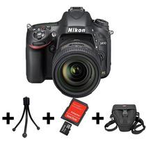 Camera Nikon D610+lente 24-85mm+32gb+bolsa+tripé