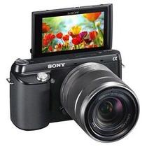 Câmera Sony Nex-f3- 16.1 Full Hd 3d- A Unica Nova No Brasil