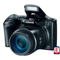 Câmera Digital Canon Powershot Sx400is 16 Mp Lcd 3 Zoom Ópt