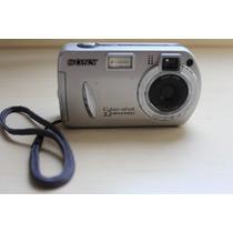 Câmera Cyber Shot Dsc-p32 3.2 Mp + Case + Memória - Conserto