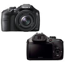 Câmera Sony Alpha Ilce 3500j+lente 18-50mm+16gb Cl.10+bolsa