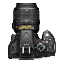 Câmera Nikon D5200 24.1mp - Lente 18-55mm Nova Na Caixa