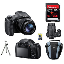 Câmera Sony Hx300 +bolsa+32gb(c10)+tripé+kit Limpeza