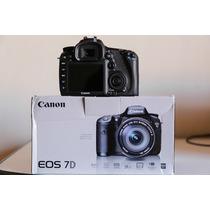 Canon 7d Câmera Fotográfica Profissional (corpo) Muito Nova