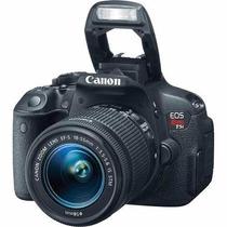 Camera Canon Eos Rebel T5i+18-55mm+16gb C10 Bolsa Brinde