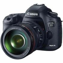 Câmera Canon Dslr Eos 5d Mark Iii Com Lente 24-105mm