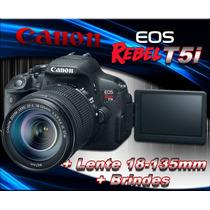Câmera Canon T5i 700d +18-135 Stm +sandisk16gb +case +tripe