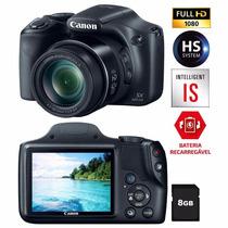 Câmera Digital Canon Powershot Sx520hs Preta.
