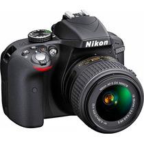Nikon D3300 Profissional 24.1mp Full Hd Lente Vr 18-55 Origi