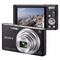 Câmera Digital Sony Cyber-shot Dsc-w730 16.1 Mp 8gb Hd 720p