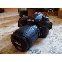 Nikon D7100 + Lentes: 50 Mm + 18-105 Mm Completo !