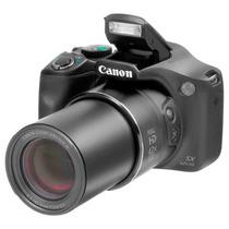 Canon Powershot Sx520hs Preta + Cartão 8gb Garantia 12meses