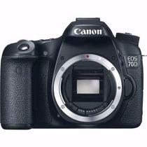 Câmera Digital Canon Eos 70d Corpo+bolsa+tripé+32gb+kit Lp
