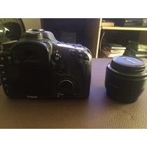 Câmera Dslr Canon 7d + Kit 18-55 E 50mm 1.8