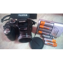 Camera Fujifilm 14mg Semiprofissional Carregador Cartao 4g