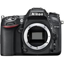 Câmera Digital Profissional Adaptador Movel Só O Corpo D7100