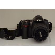 Câmera Profissional Nikon D90 + Lente Nikkor 18-55, 3.5-5.6