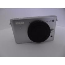 Camera Nikon J1 + 1 Nikkor Vr 10-30 Mm F/3.5-5.6 Prata