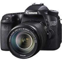 Canon Eos 70d + Kit 18-135mm Stm - 20mp