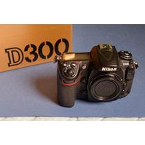 Câmera Profissional Nikon D300