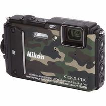Camera Nikon Aw130 16mp Prova D