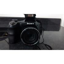 Câmera Semiprofissional Sony Dsc-h200 20.1 Mp Zoom 26x