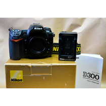 Nikon D300 - Corpo - Somente Com 4.000 Clicks